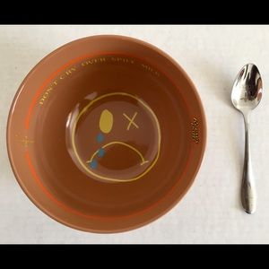 Travis Scott X Reese's Puffs Cereal Bowl Spoon Set